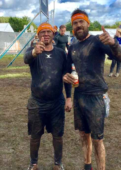 Employees Complete Tough Mudder in Support of MNDA