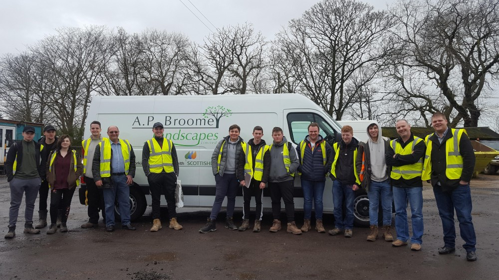Another Visit from the Myerscough College Students